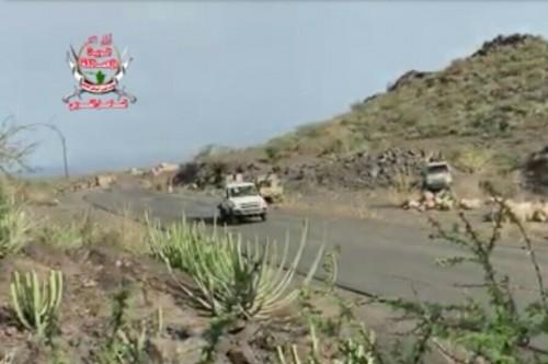 شاهد.. تقدم جديد للقوات الجنوبية بمنطقة الفاخر