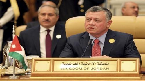 العاهل الأردني يشدد على إقامة دولة فلسطين وفق حدود 67