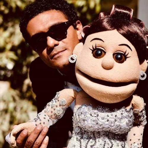 حقيقة زواج آسر ياسين من أبلة فاهيتا (صور)