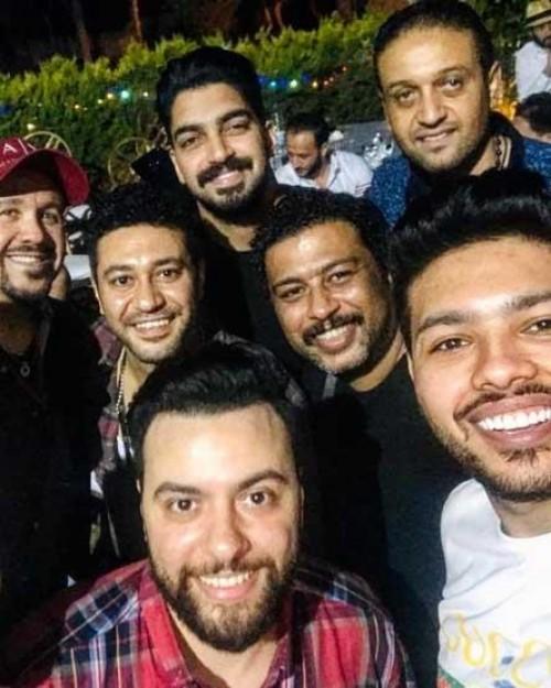 نجوم الفن يحتفلون بعيد ميلاد محمد محيي (صور)