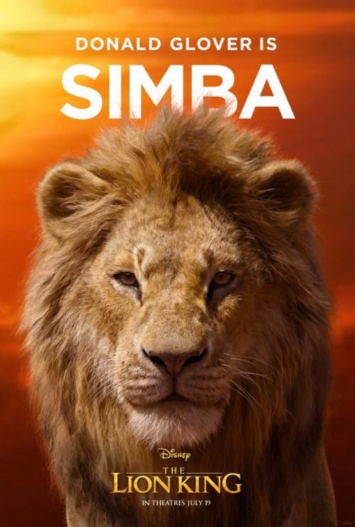 ديزني تطرح بوسترات شخصيات فيلمها The Lion King