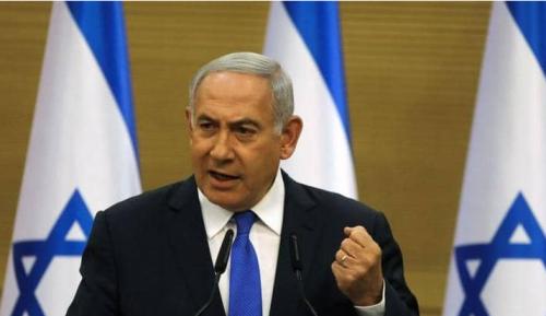"""نتنياهو يتعهد بالرد بـ""""قوة كبيرة"""" على الصواريخ السورية"""