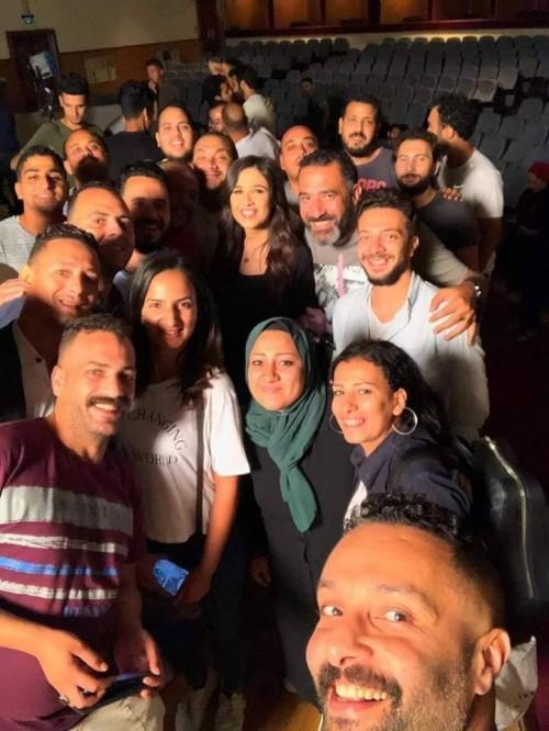 """ياسمين عبد العزيز تنتهي من تصوير """"لآخر نفس"""" (صور)"""