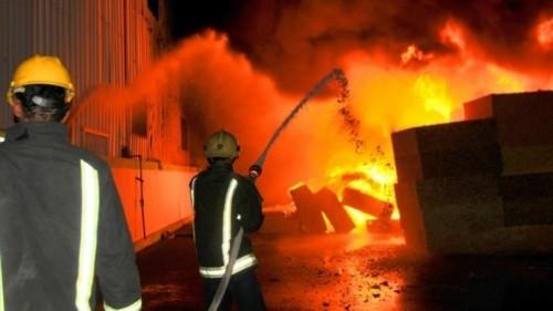 حريق هائل فى سوق كبير بكابول يدمر عدد من المتاجر