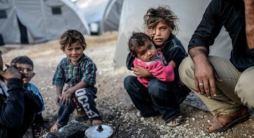15 ألف طفل سوري يواجهون الموت في العراء بلبنان