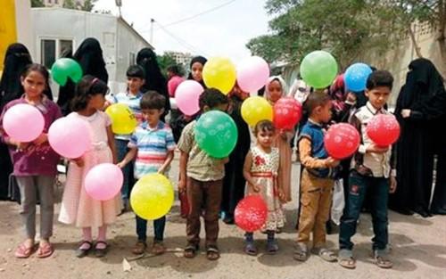 مليشيا الحوثي تطلق الرصاص على المحتفلين بالعيد في إب