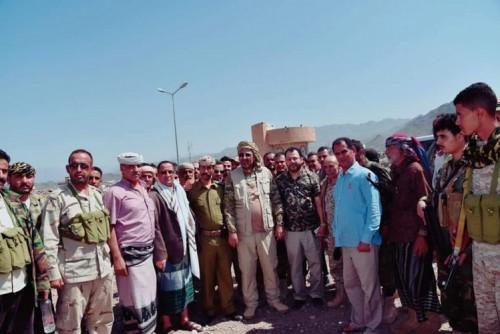 الزُبيدي: قواتنا هي السيّاج القوي لحدودنا في مواجهة مطامع الحوثيين والمتحالفين معهم