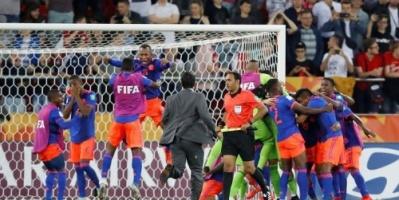 كولومبيا إلى ربع نهائي كأس العالم للشباب