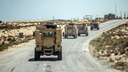 هجوم إرهابي على كمين أمني في سيناء بمصر