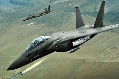 مقاتلات التحالف تشن 15 غارة جوية على مواقع المليشيات في عدة محافظات