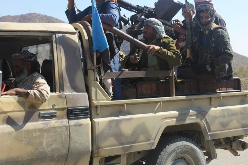 القوات الجنوبية تُجبر وفداً زائراً لمليشيا الحوثي على الانسحاب من جبهة ثرة