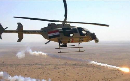 الاستخبارات العراقية: مقتل 7 انتحاريين بقصف جوي شمال الأنبار