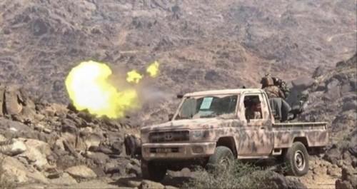 مصرع ثلاث قيادات حوثية بارزة في قصف للعمالقة بالفاخر