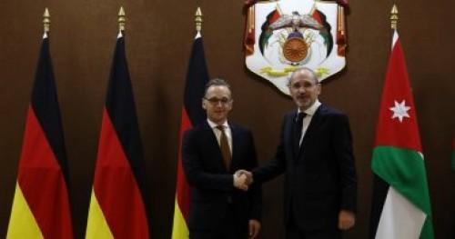 وزير خارجية الأردن يناقش مع نظيره الألماني الأوضاع فى سوريا واليمن