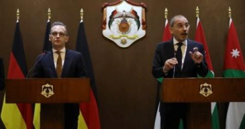 وزير خارجية الأردن: توافق ألماني بشأن حل القضية الفلسطينية
