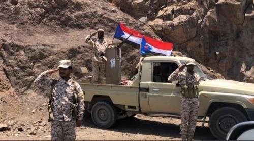 """عاجل.. القوات الجنوبية  تسيطر على موقع """" قَحوَش """" بشمال الضالع"""