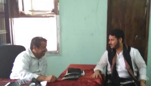 مدير عام ردفان يبحث أوضاع أسر شهداء المديرية مع منسق مكتب شهداء لحج