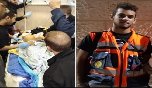 استشهاد ضابط إسعاف فلسطيني متأثرًا بإصابته بمسيرات العودة