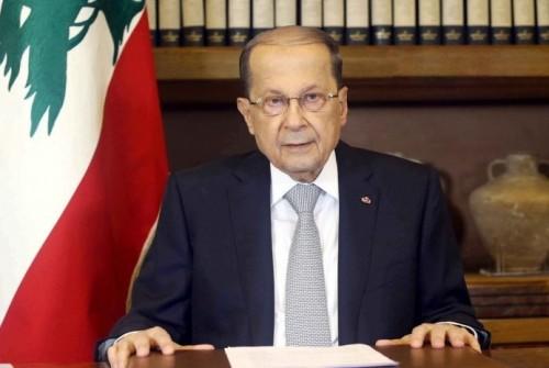 الرئيس اللبناني يعرب عن أمله في تفهم موقف بلاده المطالب بعودة النازحين السوريين