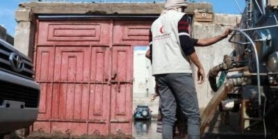 التحالف يتدخل.. مخيمات النازحين في مواجهة السيول وفشل الشرعية