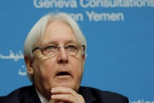 """الأمم المتحدة: السعودية أكّدت دعمها لمبعوث الأمم المتحدة إلى اليمن """"غريفيث"""""""