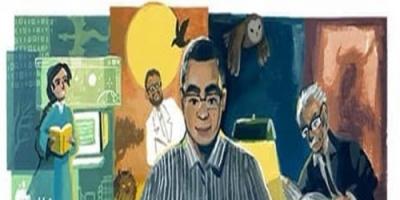 نجل أحمد خالد توفيق يعرب عن سعادته بعد احتفال جوجل بوالده