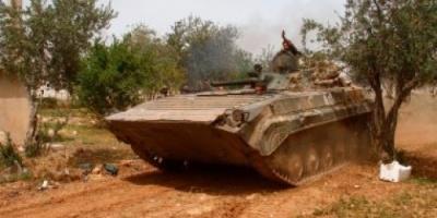 الجيش السوري يسقط طائرة مسيرة محملة بالقنابل للتنظيمات الإرهابية