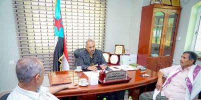الرئيس الزُبيدي يلتقي نائب قائد مقاومة مريس.. تفاصيل