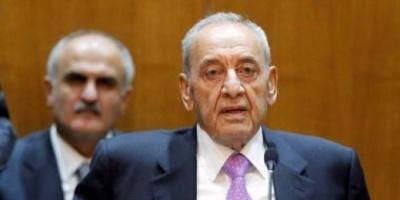 رئيس مجلس النواب اللبناني: إصلاح الموازنة العامة أساس العلاج الإقتصادي