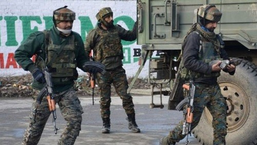 مقتل وإصابة 7 من أفراد القوات شبه العسكرية الهندية