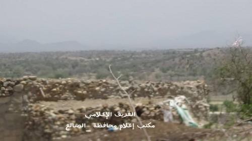 يوم أسود على المليشيات..مقتل وجرح عشرات الحوثيين في جبهتي قعطبة وحجر شمالي الضالع