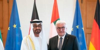 الإمارات وألمانيا تدعوان إيران إلى القيام بدور إيجابي وعدم التصعيد بالمنطقة
