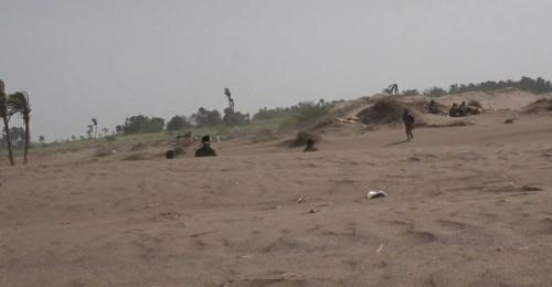 قوات العمالقة تتصدى لهجوم حوثي في الجبلية وقتلى بصفوف المليشيات