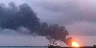 استمرار اشتعال النيران في ناقلتي النفط