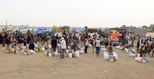مساعدات إيوائية وإغاثية إماراتية لمتضرري السيول بلحج وأبين (صور)