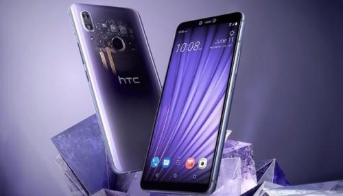 "رسميا..""HTC"" تطلق هاتف U19e بشاشة كبيرة نسبيا"