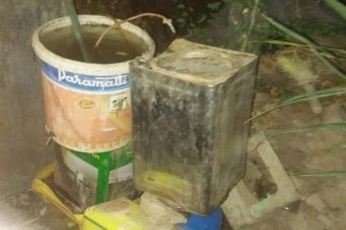 ضبط معمل لتصنيع الخمور في تريم بوادي حضرموت
