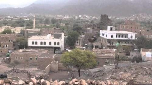 استشهاد فتاة جراء سقوط قذيفة حوثية على منزل أسرتها بمنطقة شخب
