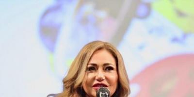 بهذه الكلمات شكرت ليلى علوي مهرجان طرابلس بعد تكريمها (صور)