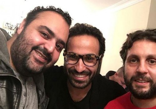 الثلاثي أحمد فهمي وهشام ماجد وشيكو يجتمعون من جديد في هذا الفيلم