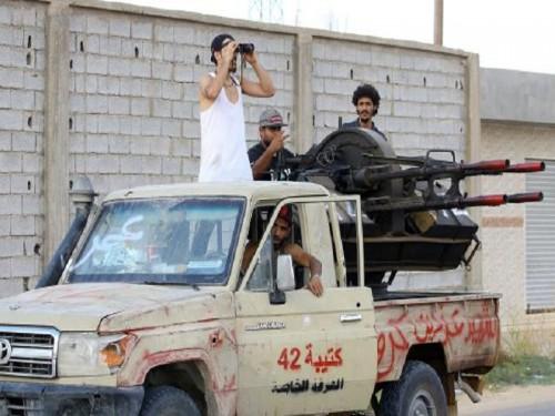 الجيش الوطني الليبي: مليشيا الوفاق أحرقت منازل مواطنين بمحيط طرابلس