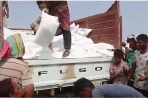 الهلال الإماراتي يسير قافلة غذائية جديدة إلى قرى الدريهمي (فيديو)