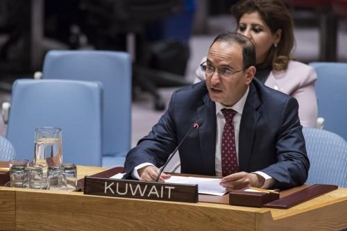 الكويت تطالب باتخاذ جميع التدابير لحماية الممرات المائية