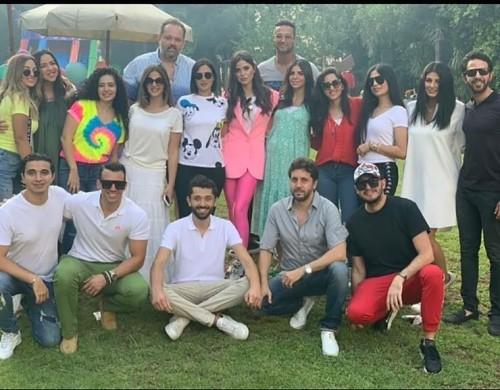 دنيا سمير غانم تحتفل بعيد ميلاد كريم محمود عبد العزيز (صور)