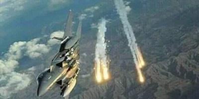 عاجل.. طيران التحالف يدمر مواقع للحوثيين في صعدة وصنعاء وحجة
