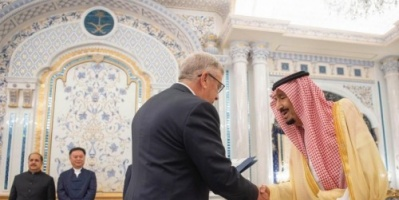 العاهل السعودي يتسلم أوراق اعتماد عددًا من سفراء الدول (صور)