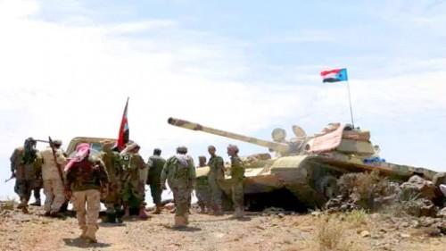 """عملية نوعية للقوات الجنوبية تحصد عدد من المليشيات في جبهة """" مريس """""""