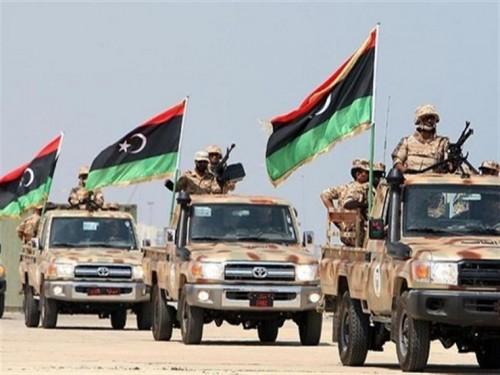 معارك ضارية بين الجيش الوطني الليبي ومسلحي داعش بالجنوب