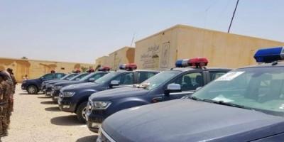 التحالف العربي يقدم 10 مركبات للأجهزة الأمنية بوادي حضرموت (صور)