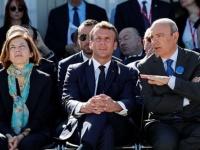 ماكرون يحضر عرضًا جويًا عسكريًا بالعاصمة باريس (صور)